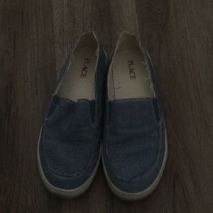 Boys Children's Place Denim loafers